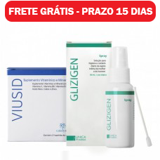 Glizigen Spray 60ml e Viusid 30 sachês