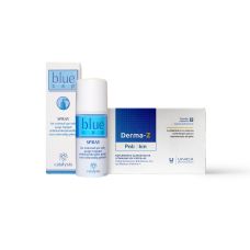 Blue Cap Spray 100ml e Derma-Z 30 cápsulas