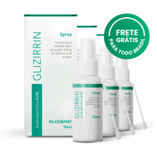 Kit 3 Glizirrin Spray 30ml